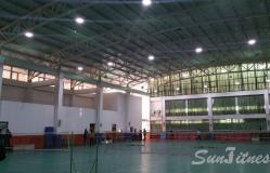 北京市第八十中学体育馆灯光改造项目