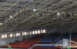 东北某大学室内体育馆照明工程