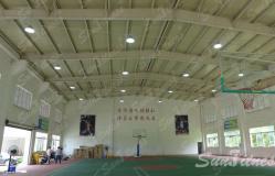 广东佛山某消防支队体能训练馆照明工程