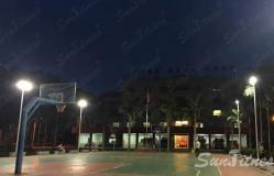 深圳某消防支队室外球场照明工程