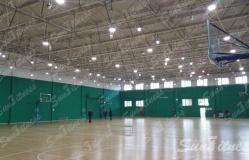 北京四得体育室内球馆照明工程