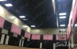 次渠供水厂羽毛球活动室灯光照明工程