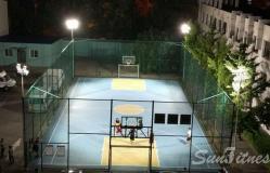 大兴区公安局篮球场灯光照明工程